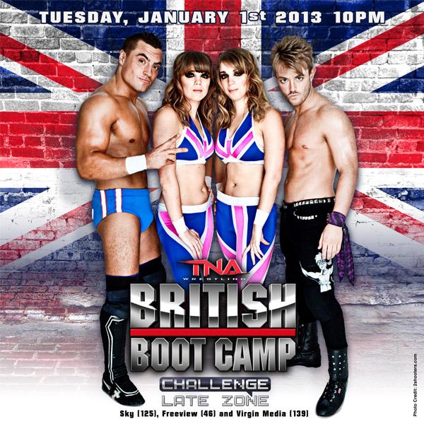 Tna British Boot Camp: Season 1
