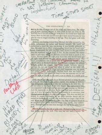 Francis Coppola's Notebook