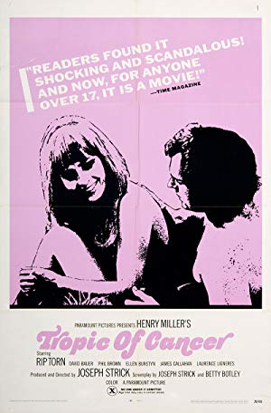 Tropic Of Cancer 1970