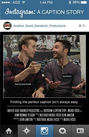 Instagram: A Caption Story