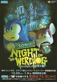 Sonic: Night Of The Werehog