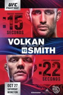 Ufc Fight Night 138: Volkan Vs. Smith
