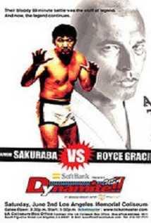 Elitexc Dynamite Usa Gracie V Sakuraba